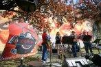 CIAPA NO all'inaugurazione del Murales